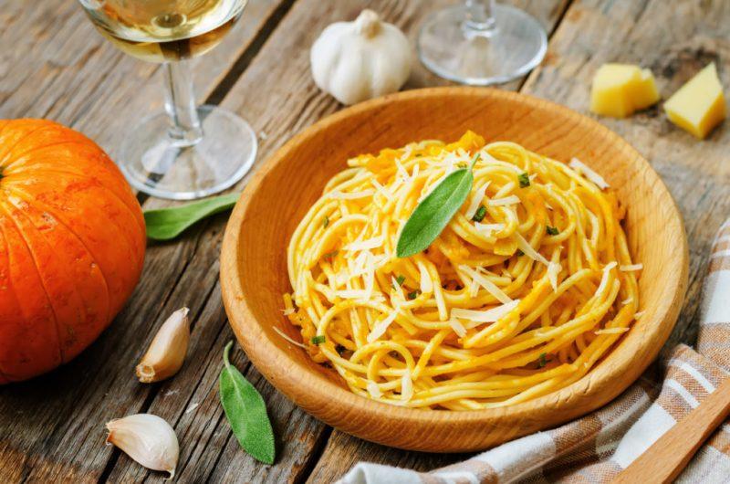 Brown Sage Butter & Garlic Sauce Pasta