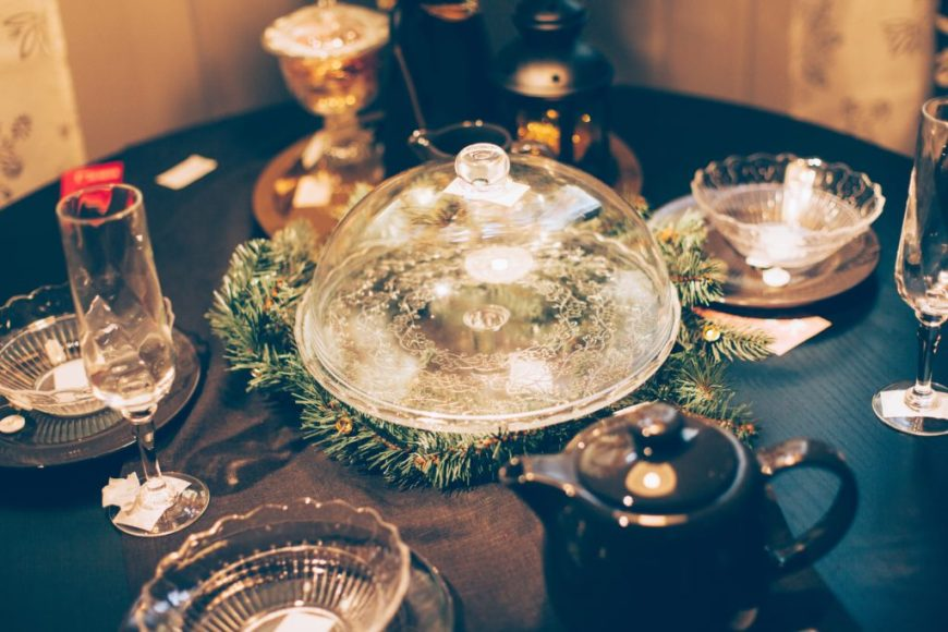 Christmas Dinner Tablescapes