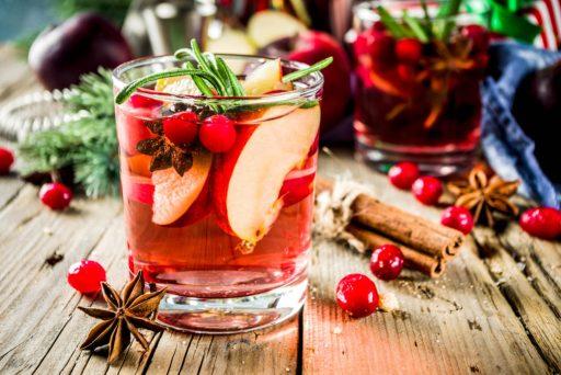 Hot Sangria Holiday Recipes