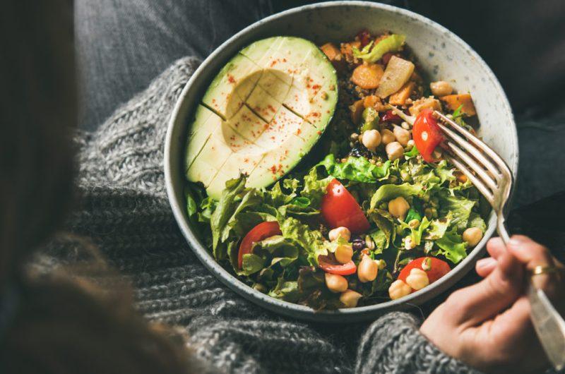 Butternut Squash Noodle and Kale Macro Bowl