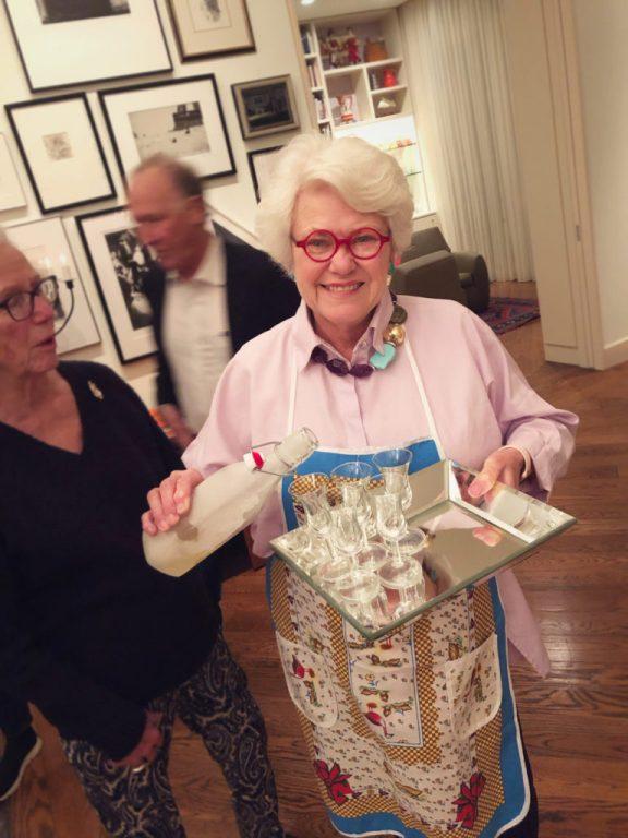 Paula Lambert Hosting a Party