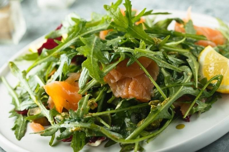 Arugula Salad with Lemon Vinaigrette