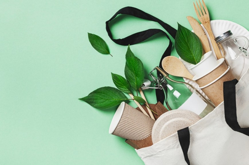 Eco Friendly Cups, Bags, and Utensils