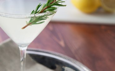 Rosemary Jalapeno Martini