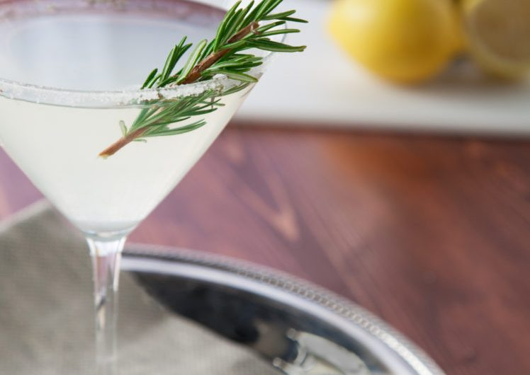 Jalapeno & Rosemary Martini Recipe