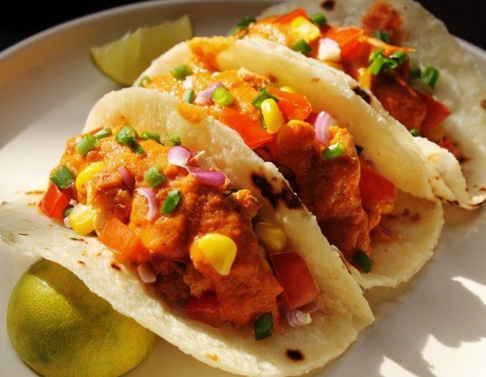 Cauliflower Tacos with Herb Gremolata
