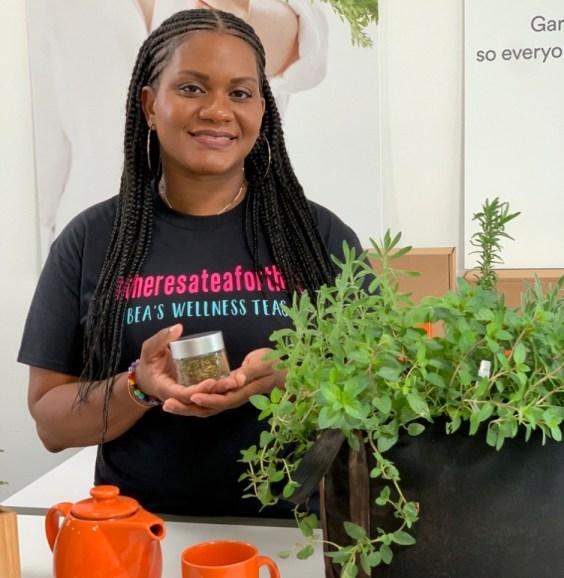 Adrienne Jones and Her Herbs
