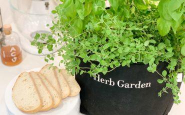 Herb Garden with Sourdough