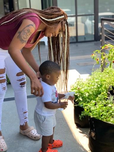 Child Growing Gardenuity Garden