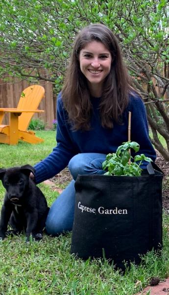 Chief Wellness Officer w/ Puppies & Gardens