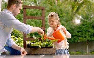 Family Gardening Time