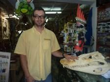 Lebka aligátora, Leticia