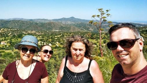 Larnaca: horské dedinky