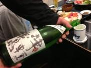 こんな日は日本酒で(笑)