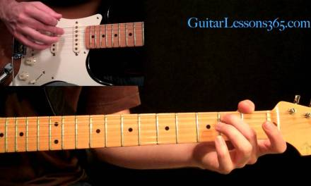 Led Zeppelin – Stairway to Heaven Guitar Lesson Pt.3 – Electric Guitar Rhythms