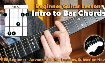 How to REALLY Play Bar Chords – A Beginner Guitar Tutorial