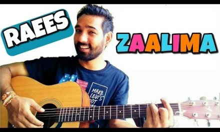 Zaalima Guitar Chords Lesson – Raees