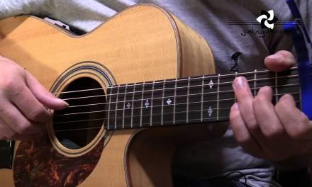 Let Her Go – Passenger – Guitar Lesson Tutorial Acoustic Finger Style (BS-625)