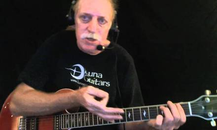 """How to Play """"Green Onions"""" – Blues Guitar Lesson – Red Lasner"""