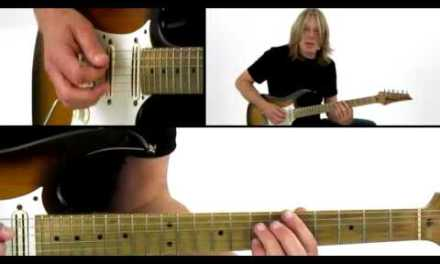 Blues Guitar Lesson – #31 A Modal Blues – Andy Timmons
