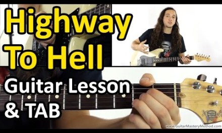 Highway To Hell Chords – Guitar Lesson & TAB