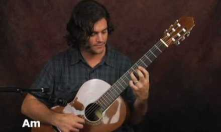 How to play Fingerstyle classical guitar lesson in styles of Segovia Beethoven Carulli progression