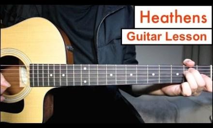 Heathens – Twenty One Pilots | Guitar Lesson Tutorial EASY Chords