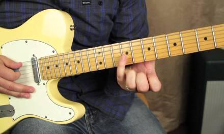 Blues Guitar Lessons – Intermediate and Advanced blues solo lead guitar lesson