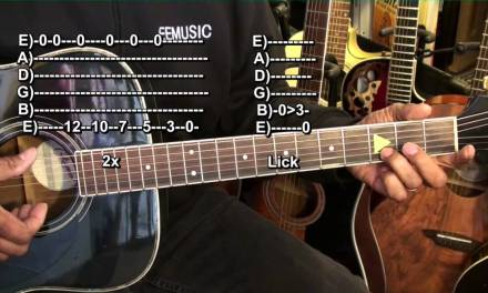 Your Very First Blues Guitar Lesson Prt4 E String FINGERSTYLE BLUES Lesson EricBlackmonMusicHD