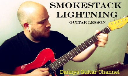 Smokestack Lightning – Howlin Wolf – Blues Guitar Lesson – Plectrum Version
