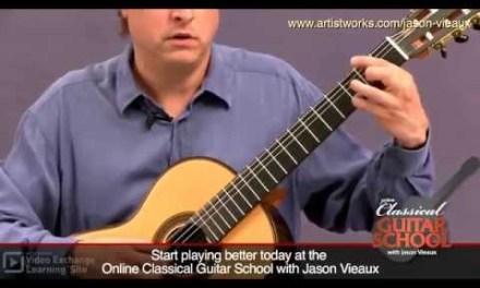 Classical Guitar Lesson: Jason Vieaux teaches Bouree