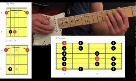 Guitar Lesson Video – Phrygian Mode – Chord / Scale Connections