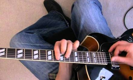"Swing Jazz Guitar Lesson – Charlie Christian style solo to ""Six Appeal"" pt.1 rhythm"