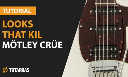 How to play LOOKS THAT KILL from MOTLEY CRUE – Electric GUITAR LESSON