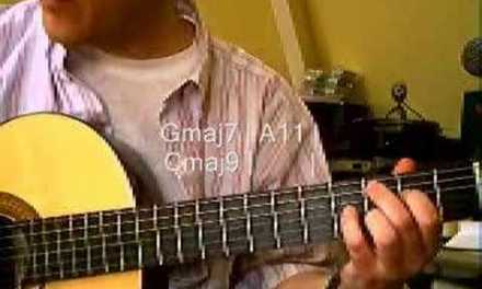 Acoustic Smooth Jazz Guitar Lesson: 2 of 4
