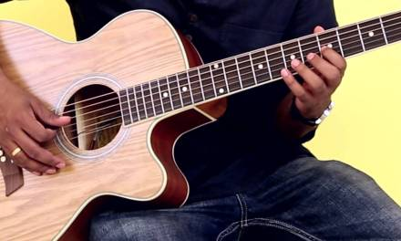 How To Play – D Natural Minor Scale – Guitar Lesson For Beginners