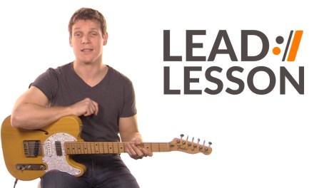 Cornerstone – Hillsong Live // Lead Guitar Lesson