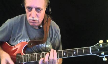"""How to Play """"Tin Pan Alley"""" – Blues Guitar Lesson – Red Lasner"""