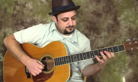 Blues Guitar  lesson – In G Phrasing Over G Progression