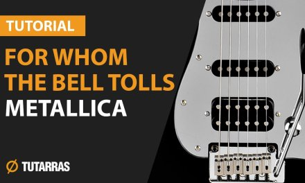 FOR WHOM THE BELL TOLLS – METALLICA How to play – Electric GUITAR LESSON