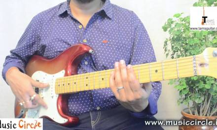 ROCK ON REVISITED  guitar lesson | main Electric guitar Riff | Rock On 2 | www.tamsguitar.com