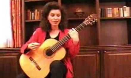 A Guitar Lesson with Sharon Isbin Part 1 – Sharon Isbin