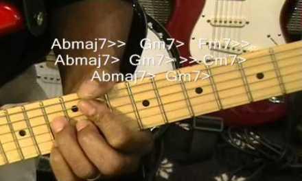 Bruno Mars TREASURE Electric Guitar Lesson Disco Style R&B Cover Tutorial Instruction