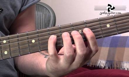 The Major Scale Pattern 2 – Guitar Lesson Tutorial – Five Pattern System