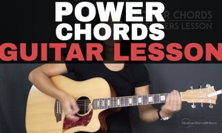 How To Play Guitar Power Chords – Beginner's Guitar Lesson