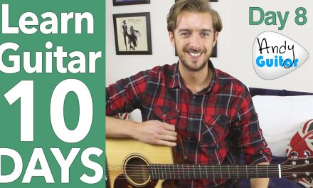Guitar Lesson 8 – G Major Scale & NEW Song! [10 DAY Guitar Course]