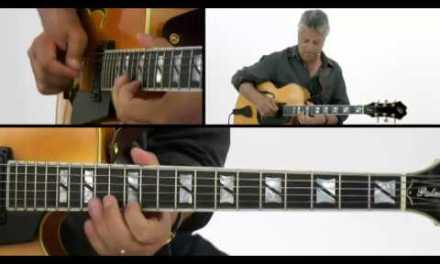Smooth Jazz Guitar Lesson – #31 Funky Joint – Paul Brown