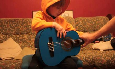 First Introduction to Classical Guitar for Children – Part 1a