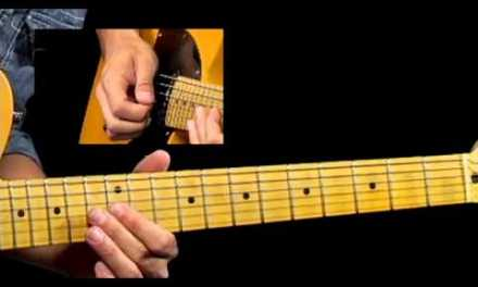 50 Texas Blues Licks – #18 Classic SRV – Guitar Lesson – Corey Congilio