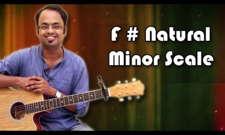 How To Play – F Sharp Natural Minor Scale – Guitar Lesson For Beginners